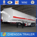 3 ejes 42000L Alluminum Tanque de combustible Tráiler Exportar a Kenia