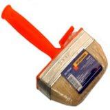 3x12cm pared cepillo con cerdas naturales y de color mango de plástico