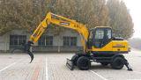 Excavadores de la rueda para el cargador de madera de la máquina/de la caña de azúcar con el brazo largo