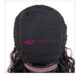 흑인 여성을%s 긴 꼬부라진 사람의 모발 가발 20 인치