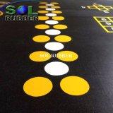 優れた品質明るいカラー体操の床のゴムタイル