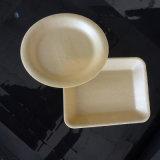 Одноразовые вспенивания PLA пластиковый лоток для пищевой категории