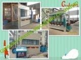 Máquina modelo de la carpintería de la alta calidad Ryj100t tres capas de la máquina caliente de la prensa