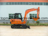 Piccolo escavatore idraulico cinese del cingolo da 6 tonnellate da vendere