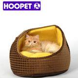 개는 호화스러운 고양이 집 개 침대를 공급한다