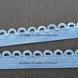 13mm de malha de croché Big Picot Edge Soft Plush trás roupas íntimas do tecido