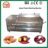Шайба картошки и моющее машинаа сладкого картофеля