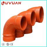 Aprobaciones UL FM accesorios de tubería ranurado ranurado y el codo para proyectos de construcción