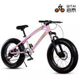 """26 """" bicicletta della gomma dei 4.0 grassi con la sospensione Forkl, bicicletta della montagna di velocità di pagina d'acciaio 21"""