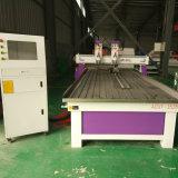 Автомат для резки CNC Woodworking Ce двойной головной с осью вращения