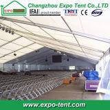 Fabrication Tente d'événement de marque avec tissu en PVC blanc
