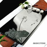 一等級の中国の花こう岩の茶皿またはセットの熱い販売か屋内装飾