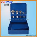 Conjunto de herramienta del avellanador del acero de alta velocidad