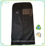 Ecoの習慣PPの非編まれたロゴの印刷の衣服のスーツ袋