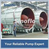 Pompe d'hélices centrifuge de l'eau de flux de /Axial d'eaux d'égout submersibles horizontales