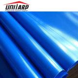 rullo blu laccato acrilico di superficie opaco del tessuto della tela incatramata ricoperto PVC 750GSM