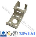 Micro metal feito sob encomenda da precisão do suporte de carbono da escova do motor que carimba as peças