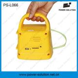 Iluminación solar accionada ligera Nigh portable del panel solar con el MP3