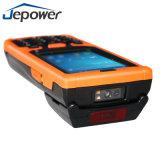 De handbediende 3G Terminal van de Scanner PDA van de Streepjescode van WiFi Bluetooth 1d 2D met Lezer NFC