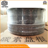 Kohlenstoff-Faser-Verpackung verwendet für Hochtemperaturflansch und andere feststehende Dichtung. Gebrauch von Hochtemperatur im Stahltausendstel, speziell für Hochofen-Verbrennung-Ventil
