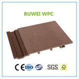 Panneau de revêtement extérieur de mur de l'extrusion WPC de constructeur de la Chine