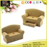 Contenitore di monili di cuoio dell'unità di elaborazione di abitudine a forma di del sofà dei 2016 Special