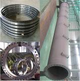 Kundenspezifischer großer Durchmesser gerollter Stahlring-Flansch für Wind-Aufsatz