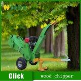Jardín móvil trituradora de madera de uso