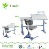 5 gradi Tilting Desktop Children Table con Pulled Drawer