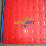 Feuerbeständiger Gummibodenbelag/Krankenhaus-Gummibodenbelag/Innengleitschutzgummimattenstoff/Farben-industrielles Gummiblatt, Anti-Abschleifendes Gummiblatt