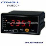 Medidor da energia eléctrica com nível superior