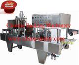 Máquina automática de selagem de enchimento de suco linear