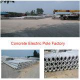 Moulage en acier de rotation électrique de Pôle de béton contraint d'avance/Pôle concret faisant la machine/moulages concrets de générateur de Pôle
