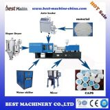 Modelação por injeção plástica padrão de tampão de frasco da capacidade elevada que faz o preço de fábrica da máquina