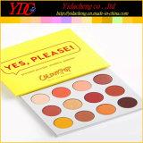12 colores sí Pulsa en polvo la sombra de ojos Paleta de colores de maquillaje Colorpop