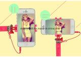 Da vara remota de Monpod Selfie do tamanho da pena da vara de Selfie do estilo da flor mini suporte telescópico prendido 12cm acessível do telefone