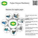 Impreso de color Ce Serviette máquina de plegado de papel