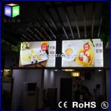 Shop Front Name Advertizing Display Menu Boardのための映像Frame Fast Food