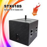 Fornitore Stx818s di Chinaa casella di Subwoofer della strumentazione del DJ da 18 pollici