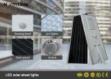 Lámpara de calle integrada toda junta ligera al aire libre del jardín del panel solar del LED