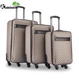 """革トロリー荷物20の""""荷物袋旅行荷物セット"""