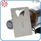 Kundenspezifischer Firmenzeichen-Kreditkarte-Tabellierprogramm-Bierflasche-Öffner