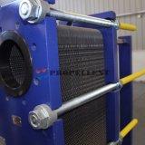 산업 기름 냉각기 증기열 격판덮개 열교환기