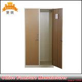 Fas-025 싸게 도매 양쪽으로 여닫는 문 강철 옷장 금속 로커는 내각을 입는다