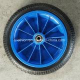 3.25-8 플라스틱 변죽을%s 가진 반 압축 공기를 넣은 PU 타이어