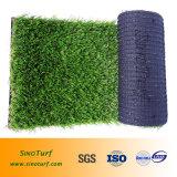 De uitstekende kwaliteit die Kunstmatig Gras voor Countyard, Zaal, Hotel, Toonzaal, het Gras van de Decoratie, School, het Gras van de Familie modelleren, vult niet het Gras van het Gras, Infill Vrij Gras