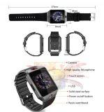 Bluetoothおよびカメラ2mが付いている方法スマートな腕時計