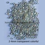 Bunte transparente Glasraupen für Dekoration
