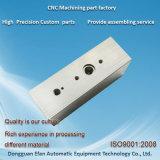 Perçage de la précision Aluminum6063 de bonne qualité fraisant des machines de commande numérique par ordinateur/usinant des pièces