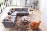 최신 판매인 새로운 디자인 거실 가구 간단한 이탈리아 직물 소파